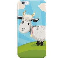 Goat on Lawn iPhone Case/Skin