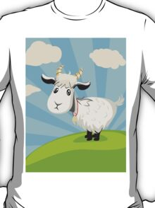 Goat on Lawn T-Shirt