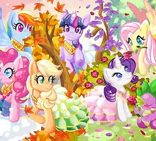 Mucha Ponies by marishop