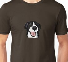 Smiley collie Unisex T-Shirt