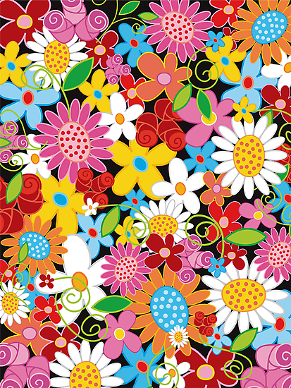 Spring Flower Power by fatfatin