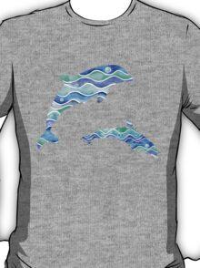 Ocean Pattern T-Shirt