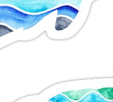 Ocean Pattern Sticker