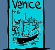 Venice lagoon sketch by Logan81