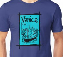 Venice lagoon sketch Unisex T-Shirt