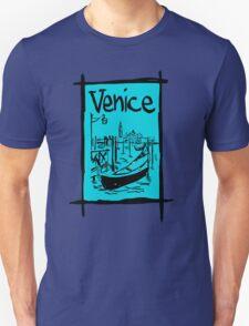 Venice lagoon sketch T-Shirt