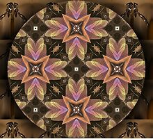 Floral Mandala 2 by Thanya