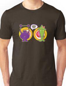 Mr. Purple and Miss Green Unisex T-Shirt