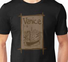 Venice lagoon vintage sketch Unisex T-Shirt