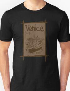 Venice lagoon vintage sketch T-Shirt