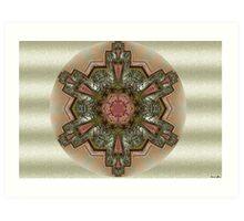 Mandala Verde Art Print