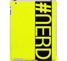Hashtag NERD pt.2 iPad Case/Skin