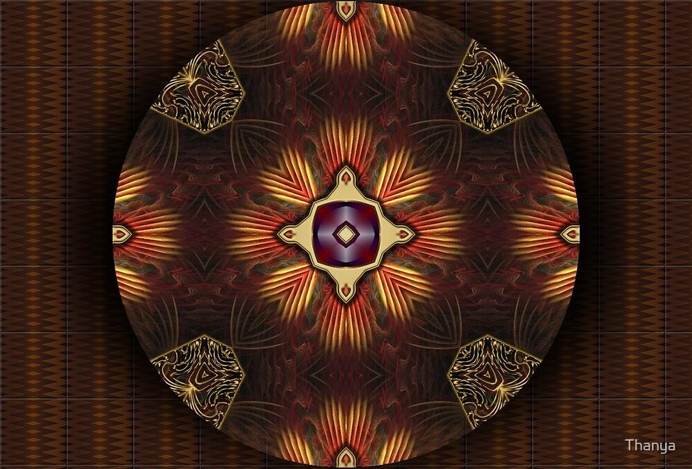 Oriental Mandala 2 by Thanya