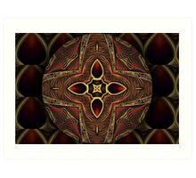 Oriental Mandala 7 Art Print