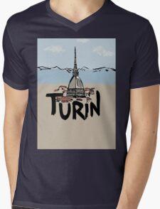 Turin Mens V-Neck T-Shirt