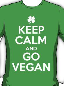 Keep calm and go Vegan T-Shirt