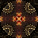 Oriental Mandala 3 by Thanya