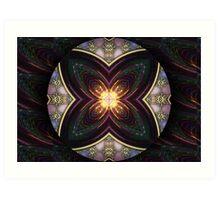 Ornal Mandala 3 Art Print