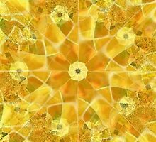 Sunflower Mosaic by Marie Sharp