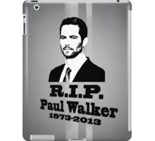 Paul W RIP iPad Case/Skin
