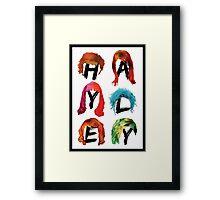 Hayley Williams' Hair Framed Print