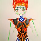 Fantasy Fashion Design 07 by jonkania