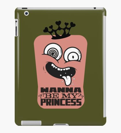 Ugly prince charming anti-love anti-Valentine's Day iPad Case/Skin