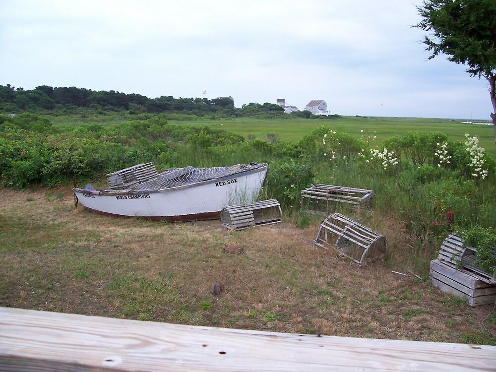 Cape Cod Rowboat by deedee48