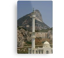 Gibraltar's Highest Point Metal Print