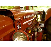McCormick Red Photographic Print