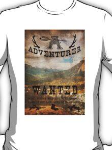 Adventurer Wanted T-Shirt