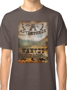 Adventurer Wanted Classic T-Shirt