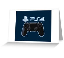PS4 Greeting Card