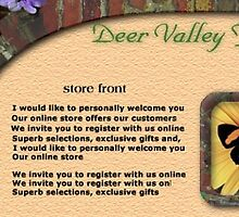 Deer Valley Florist web site concept 2 by Todd Weidman