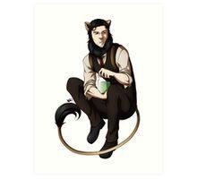 The Kitty Within[SEBASTIAN] Art Print