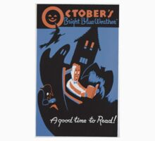 October is a Good Time to Read T-Shirt