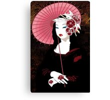 Fior Da Lisa - Geisha Mona Lisa Canvas Print