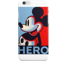 Mickey Mouse Hero iPhone Case/Skin