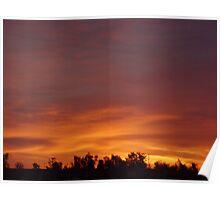 Iraqi Sun Rise Poster