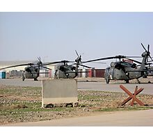 Med Evac Choppers Photographic Print
