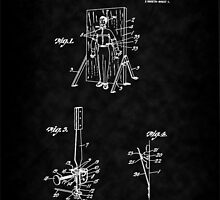 Magic - 1916 Knife Trowing Illusion Patent by Barry  Jones