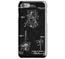 Magic - 1916 Knife Trowing Illusion Patent iPhone Case/Skin