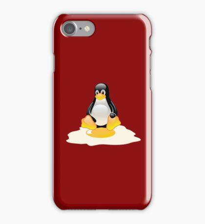 LINUX TUX  PENGUIN EGG MISCARRIAGE  iPhone Case/Skin