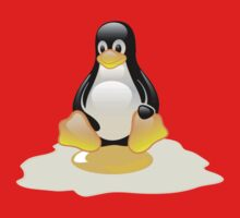 LINUX TUX  PENGUIN EGG MISCARRIAGE  Kids Clothes