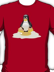 LINUX TUX  PENGUIN EGG MISCARRIAGE  T-Shirt
