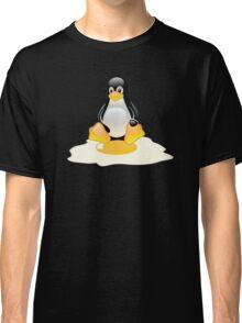 LINUX TUX  PENGUIN EGG MISCARRIAGE  Classic T-Shirt