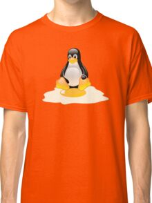 LINUX TUX  PENGUIN EGG MISCARRIAGE  Classic T-Shirt