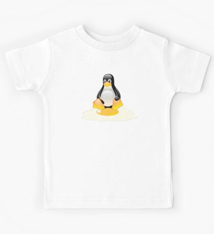 LINUX TUX  PENGUIN EGG MISCARRIAGE  Kids Tee