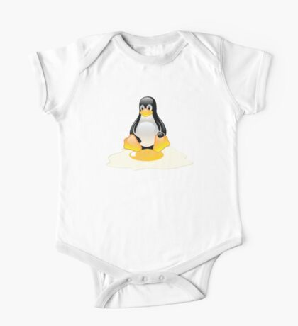 LINUX TUX  PENGUIN EGG MISCARRIAGE  One Piece - Short Sleeve