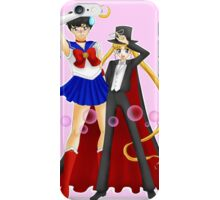 Tuxedo Moon and Sailor Mask iPhone Case/Skin